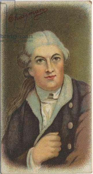 Portrait of David Garrick