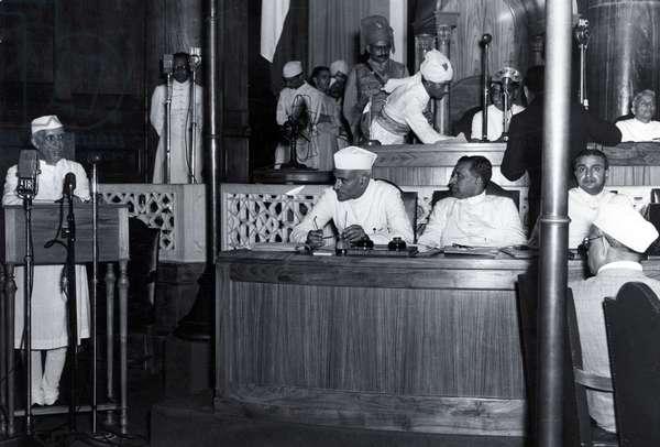 Jawaharlal Nehru, 1947