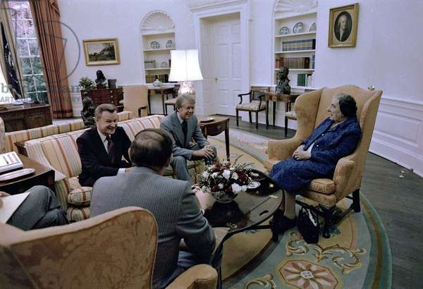 The Oval Office, 1977 (photo)