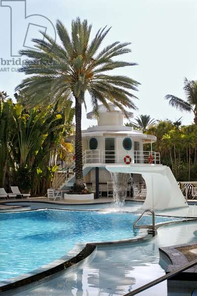 The Raleigh Hotel Swimming Pool, Miami (photo)