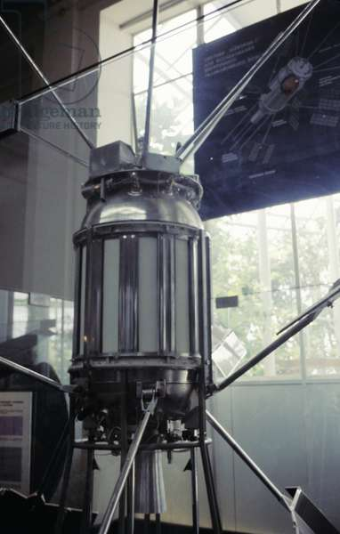 Soviet Satellite Sputnik 3 at the Space Exchange, 1966.