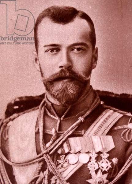 Tsar Nikolai II.