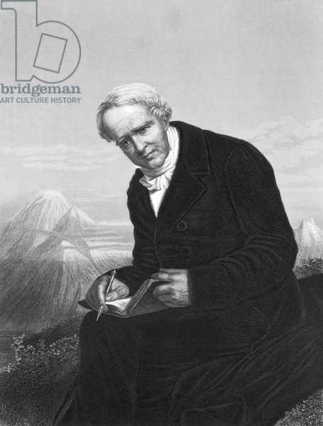 Alexander von Humboldt, , c.1830 (b/w photo)