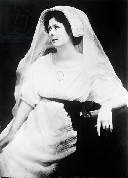 Isadora Duncan, Europe, c.1905 (b/w photo)