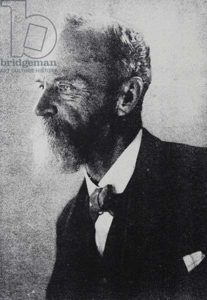 William JAMES - 1842-1920 AMERICAN: Psychoanalyst and philosopher. Brother of the novelist Henry James