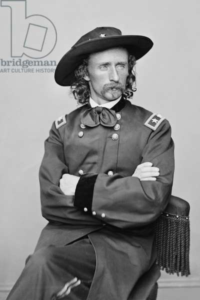 George Armstrong Custer, 1839-1876 (photo)