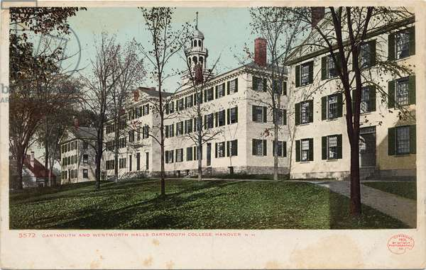 Dartmouth and Wentworth Halls, Dartmouth College, Hanover, NH