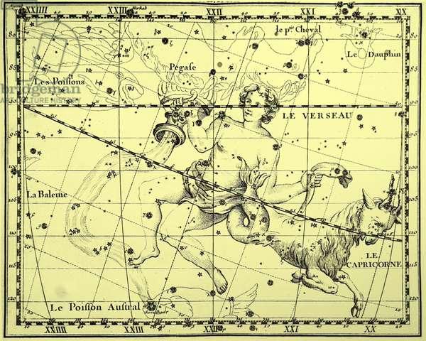 The constellations of Aquarius and Capricorn.