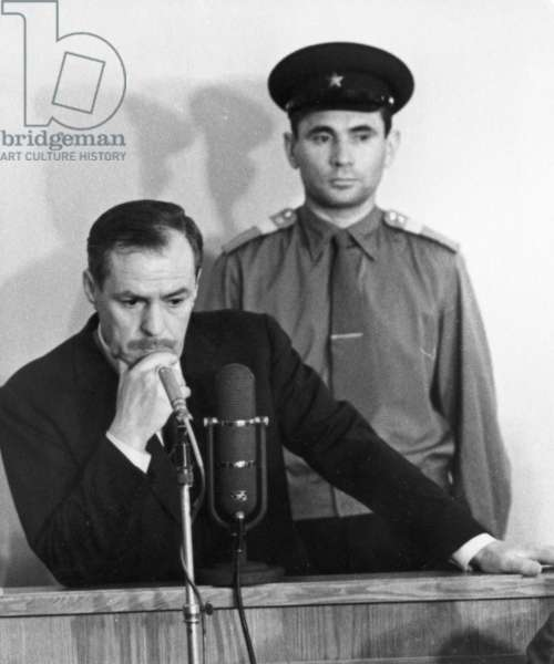 Penkovsky-Wynne Spy Trial, May 1963.