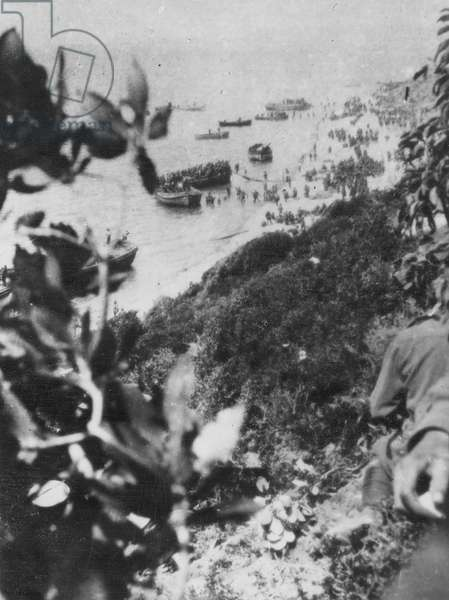 Gallipoli and the Dardanelles, part 1, 1915 (b/w photo)