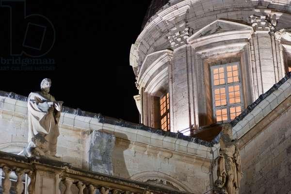 Cathedral at Night, Dubrovnik, Dubrovnik-Neretva, Croatia (photo)