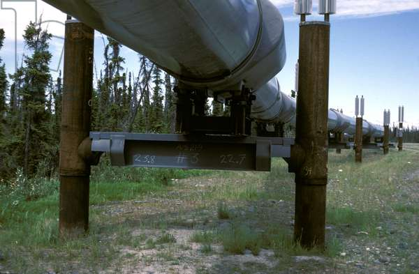 Alaska. Alaska Pipeline.