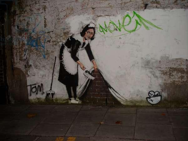 Maid, 2006-08 (wall painting)