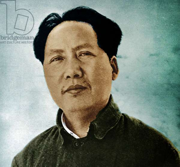 Mao Zedong (1893 – 1976), commonly known as Chairman Mao,  Chinese communist revolutionary and leader. 1937