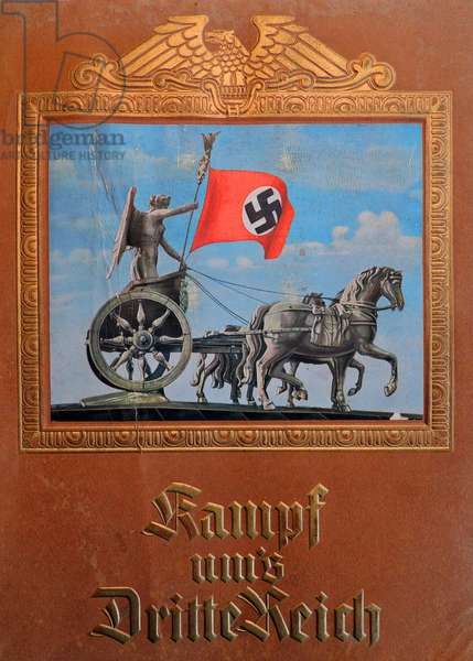 Cover image from Kampf und Dritte Reich published 1934