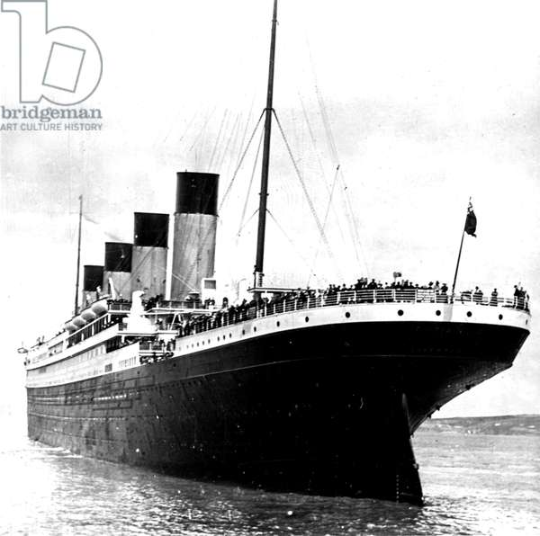 Photograph of RMS Titanic