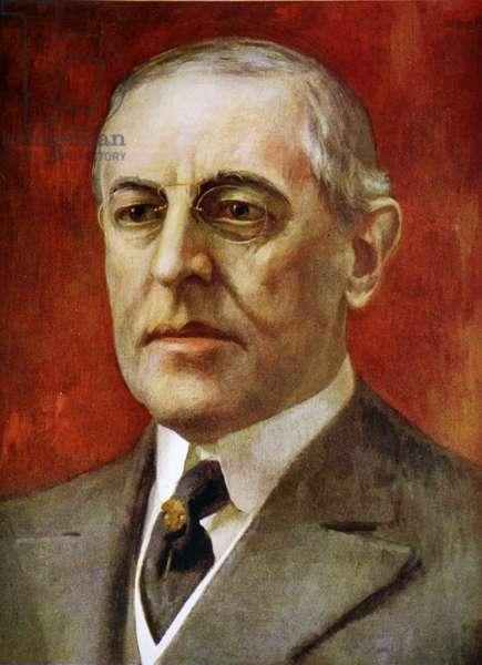 Thomas Woodrow Wilson (1856-1924)