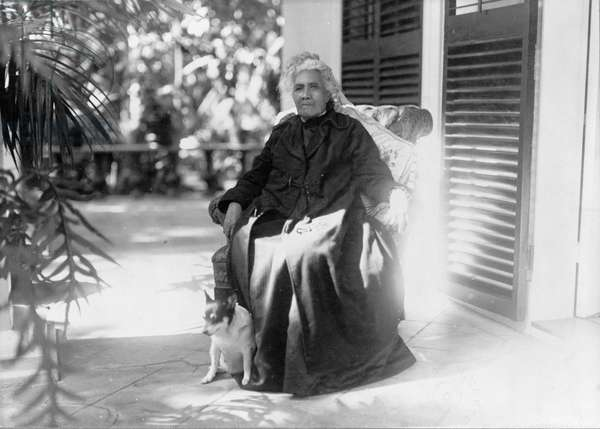 Liliuokalani, Queen of Hawaii, 1917