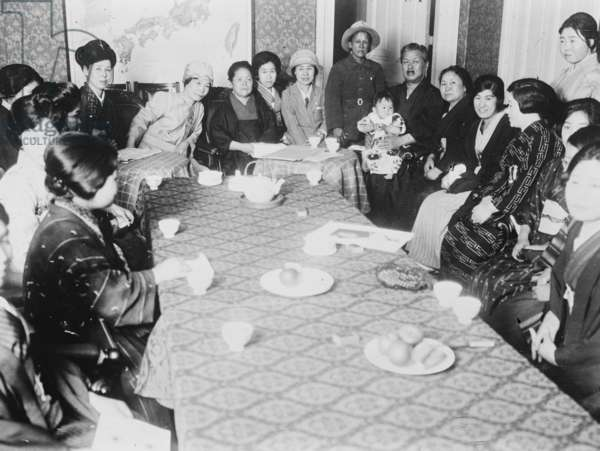 Japanese Suffragettes (photo)