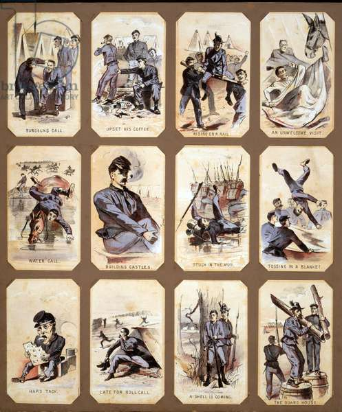 Daily life of Union soldiers during the Civil War