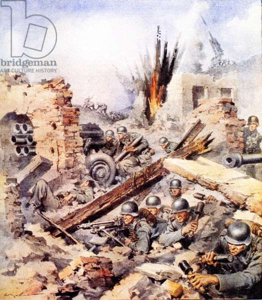 Second World War 1944 Italy Battle of Cassino