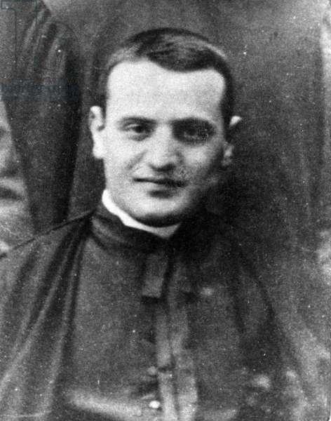 Sotto il Monte, Bergamo-The seminarian Angelo Giuseppe Roncalli