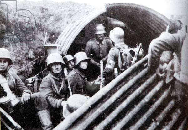 WWI World War One 1914 1918 Germany at war battle of Passchendaele 1917