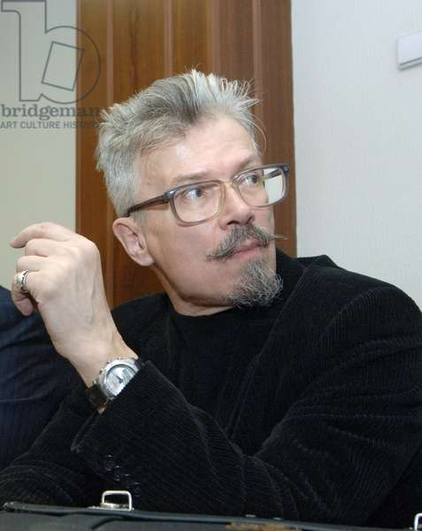 Leader of the National Bolshevik Party (Nbp) Eduard Limonov Appears in Moscow City Court Where the Suit Filed by the Prosecutor General'S Office to Recognise the Nbp an Extremist Organisation Was Considered, April 18, 2007, Moscow, Russia.