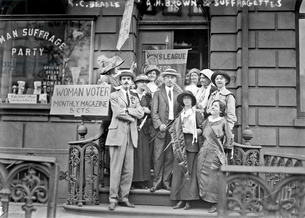 Members of the Men's League for Woman Suffrage