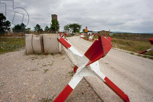 Access Road to the Gazimestan Monument to the Battle of Kosovo, Kosovo (photo)