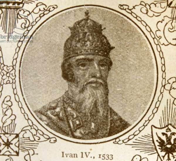 Ivan IV Vasilyevich (1530 – 1584), Ivan the Terrible