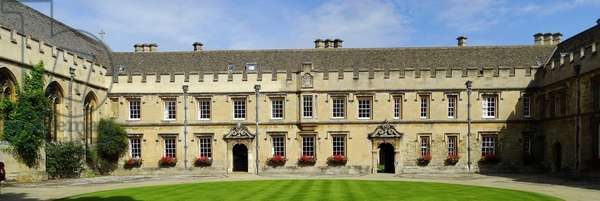 St John's College at the University of Oxford, 1754