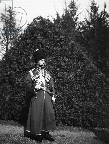 Tsar of Russia, during world war one