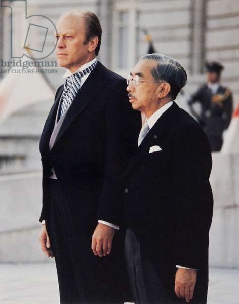 President Gerald Ford and Japanese Emperor Hirohito