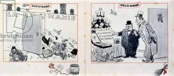 World War Two, French anti-British propaganda booklet