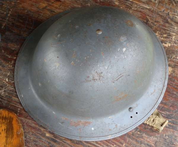 Helmet of World War Two soliders