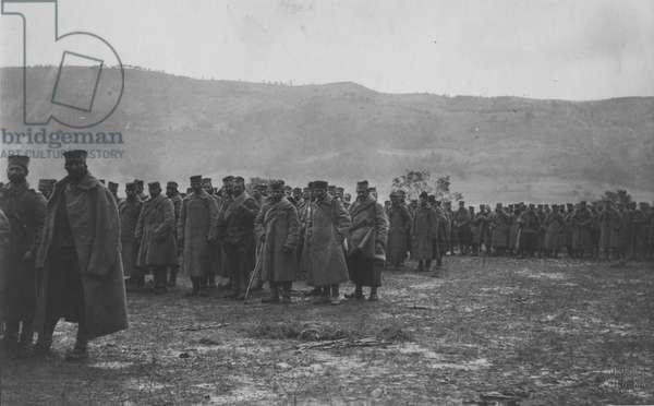 Serbian Prisoners, 1916 (b/w photo)