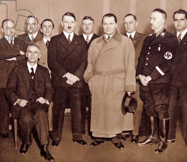 Nazi leaders photographed in 1933