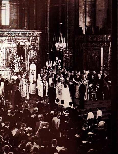 The wedding of Queen Elizabeth II and the Duke of Edinburgh, 1947
