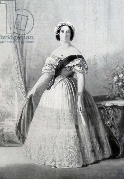 Queen Victoria of Great Britain, 1843