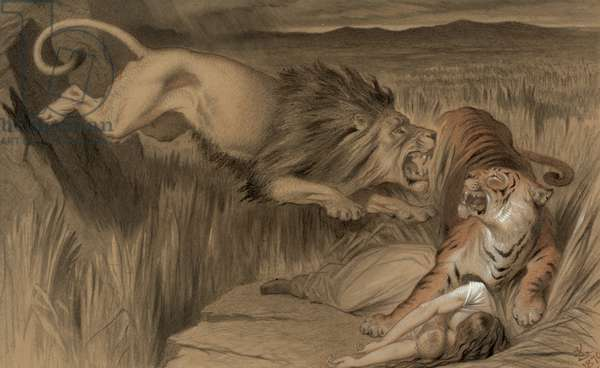 The British lion's vengence on the Bengal Tiger, 1870