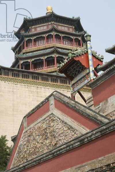 China, Beijing, Summer Palace, Pagoda