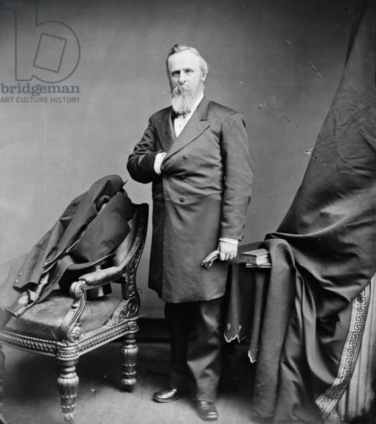 President Rutherford B. Hayes, 1875