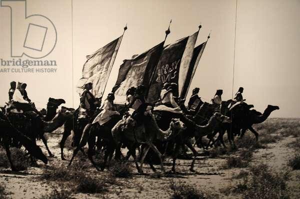 King Abdul-Aziz's raiders.