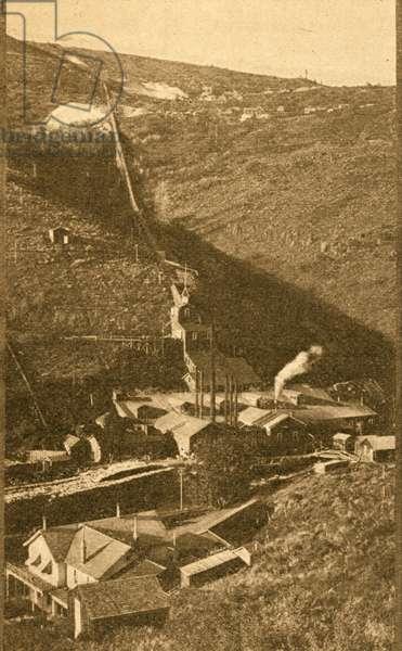 Quartz mine and mill - famous de Lamar mine and mill (photo)