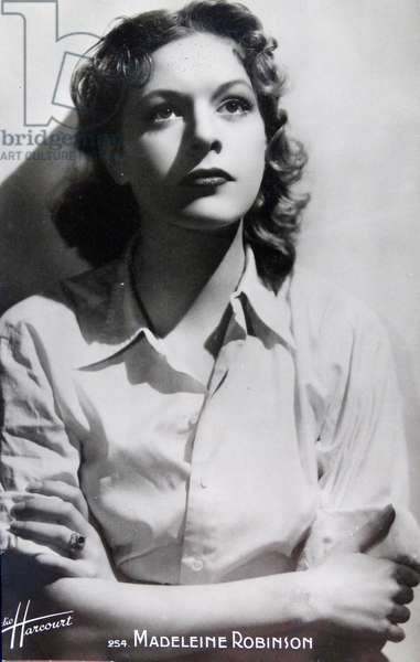 Madeleine Robinson, a French actress