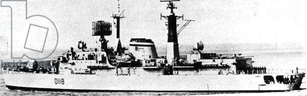 Falklands War Malvinas 1982 HMS Coventry