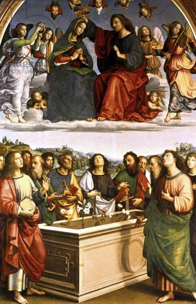 The Oddi Altarpiece, 1502-1504 (tempera on canvas)