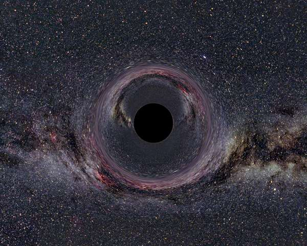 A black hole in the milky way