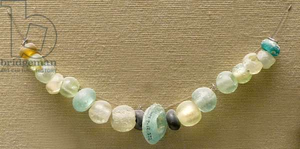 Glass beads from the Sanctuary of Artemis Orthia